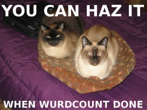 Wurdcount lolcats