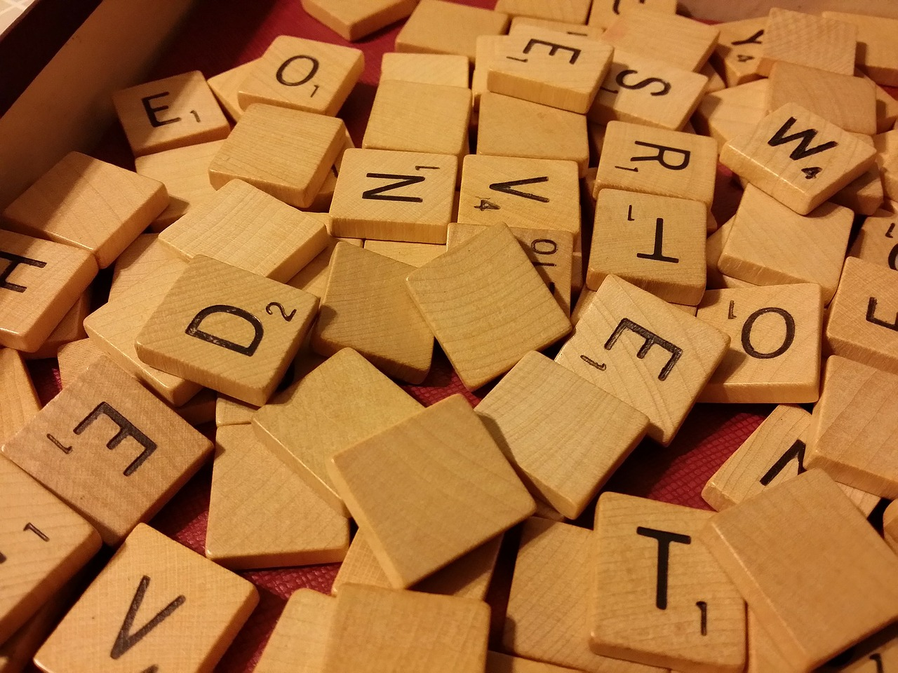 Scrabbel Wörter