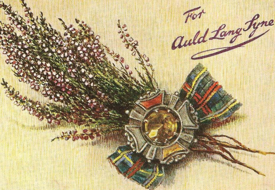 той рождественские открытки шотландии почти умельцы